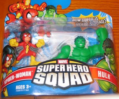 superheor squad hulk spiderwoman