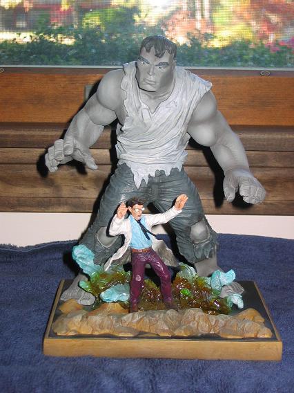 Marvel Origins Hulk Statue
