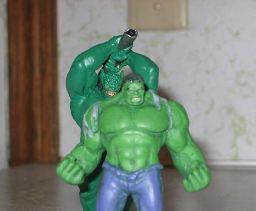 Look Out Hulk!  Behind You!