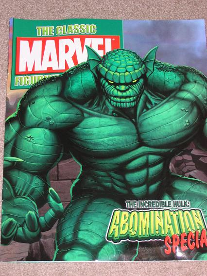 The Abomination Collectible Booklet