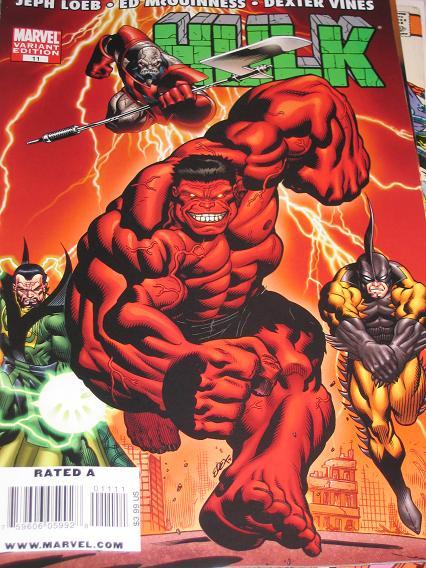 Hulk #11 Variant