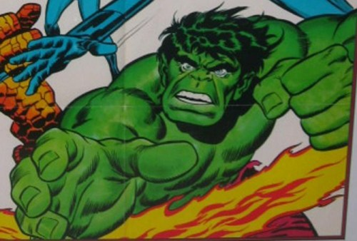 Close up of the Hulk - is this Buscema's or Buckler's?