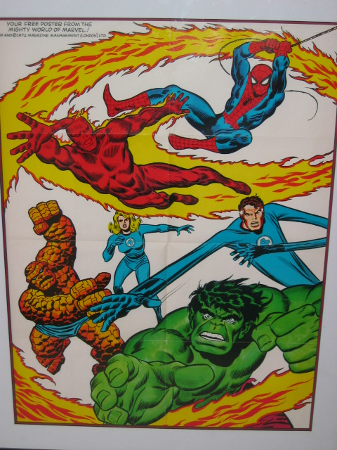 1972 Marvel Poster - Yes, Thank You!